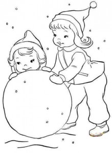 winter coloring pages worksheets activity