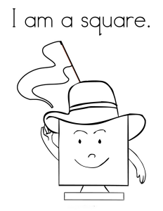 ı m a square