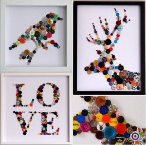 ınnovative and beautiful button crafts and projects (4)