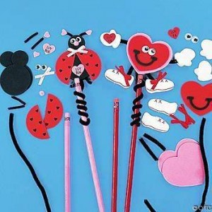 ınteresting pencil toppers you can make yourself (7)