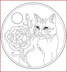 1 march martisor coloring (10)