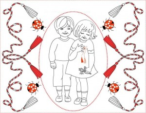 1 march martisor coloring (4)