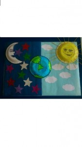 Day and night décor craft for kıds (5)