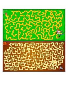Kids Maze Printable  (4)