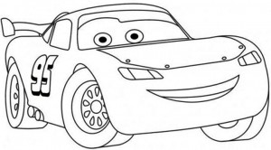 Lightning Mcqueen coloring  pages (2)