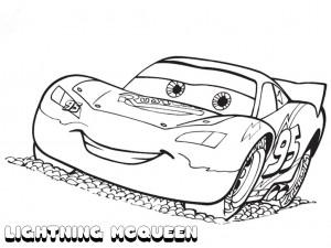 lightning mcqueen worksheets funnycrafts lightning mcqueen coloring pages 4 300x225 lightning mcqueen worksheets funnycrafts