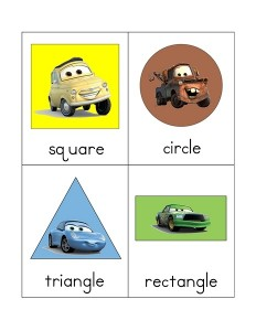 Lightning Mcqueen shapes activities (1)