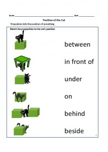 Prepositions of place for kıds (3)
