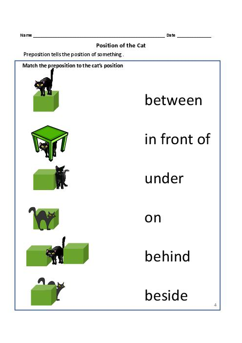 Prepositions of places printable worksheets prepositions of placetom s tefl placeenglish