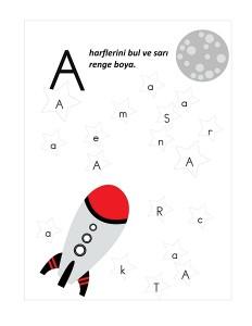 astronaut alphabet