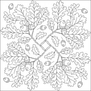 autumn coloring pages in classroom 1