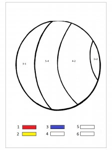 ball color by number
