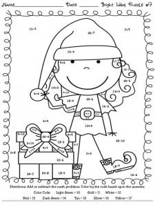 basic math coloring worksheets (1)