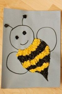 bee craft for kıds (2)