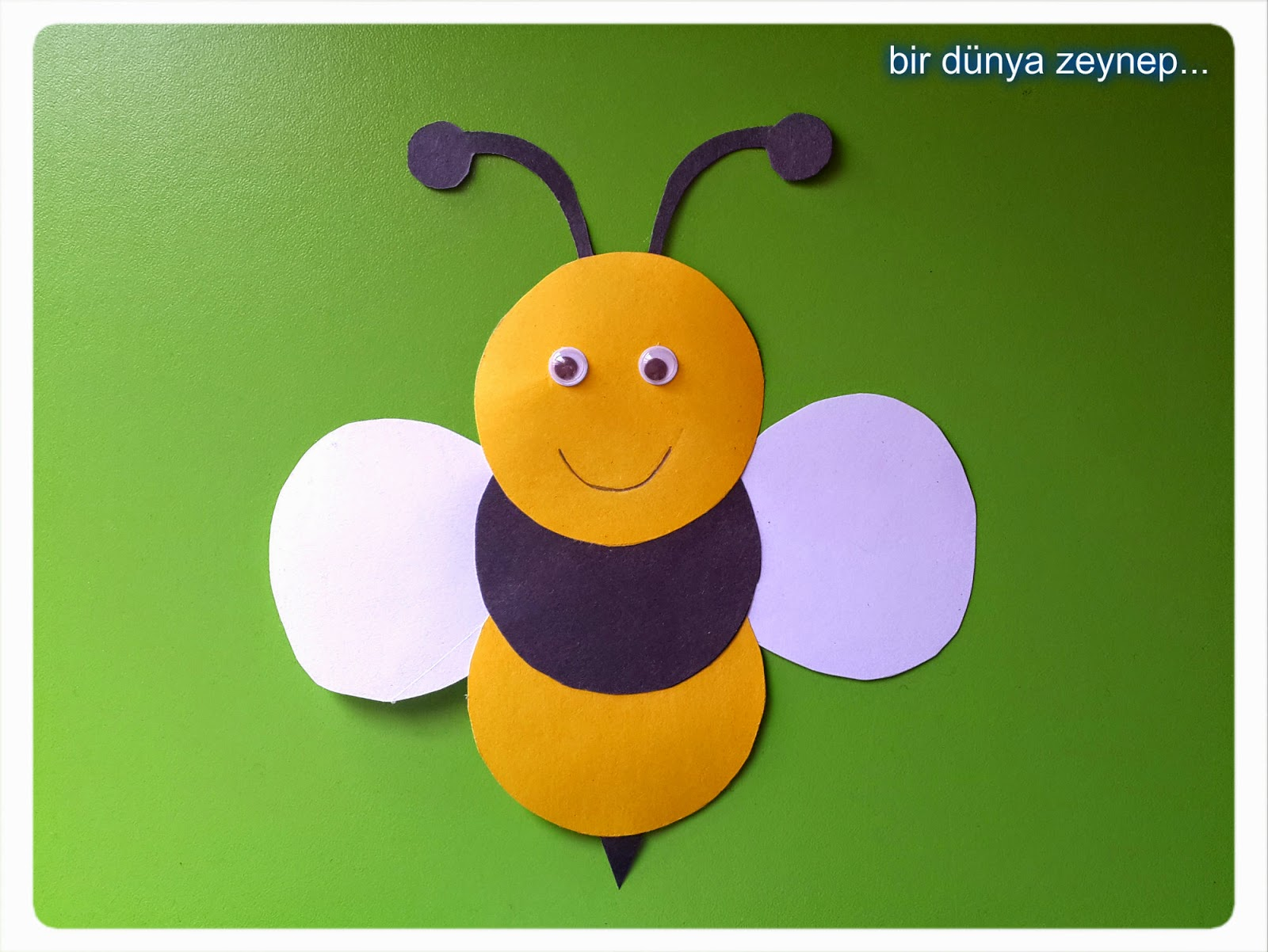 bee craft for preschool (4) u00ab funnycrafts