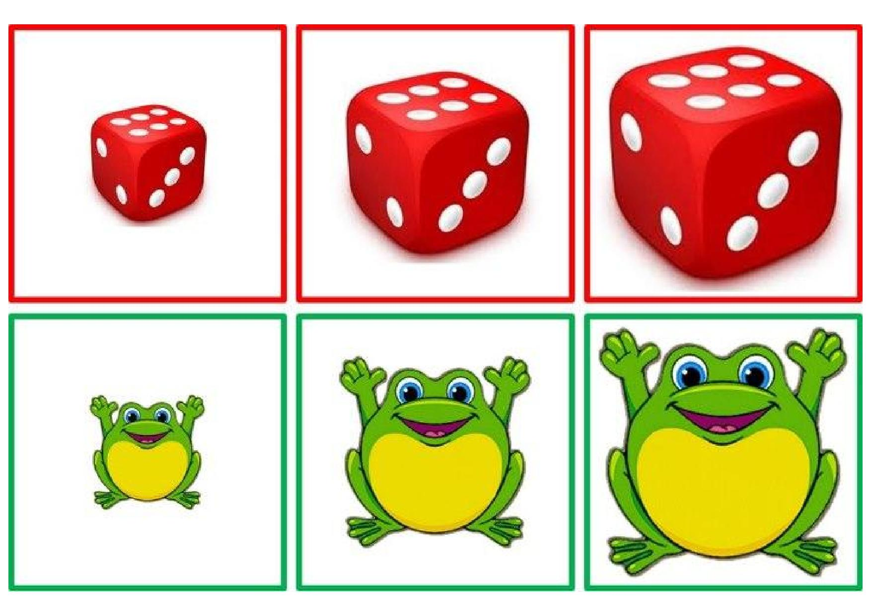 Sorting by size worksheets » big and small activities for preschool ...