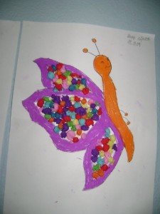 butterfly crafts for kıds (1)