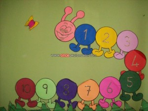 Ideas For Making Bulletin Boards Preschool Shapes Counting