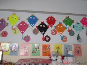 classroom wall number activities for preschool (4)