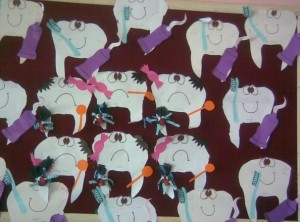 crafts and activities for kid's dental health month (1)