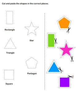 cut and paste worksheets for kıds (10)