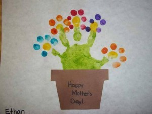 cute handprint art ıdeas for kids (3)