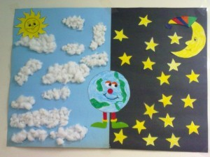day and night bulletin board ideas (3)