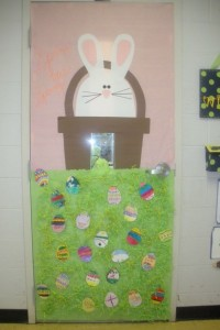 easter classroom doors craft (2)