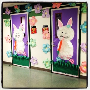 easter classroom doors craft (4)