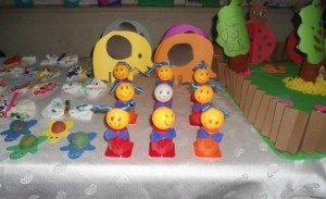 easter craft with yogurt cups (2)