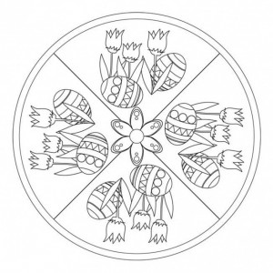 easter mandala worksheets (1)