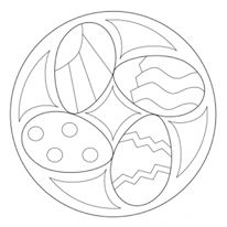 easter mandala worksheets (9)