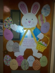 easter preschool doors (2)