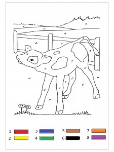farm animal color by number (3)