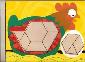 farm animal theme pattern block templates