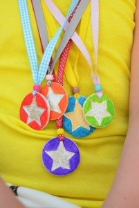 fathers day medal craft