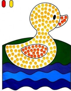 finger painting templates duck (2)