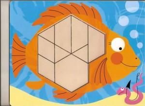 fish theme pattern block templates