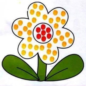 flower finger painting templates (1)