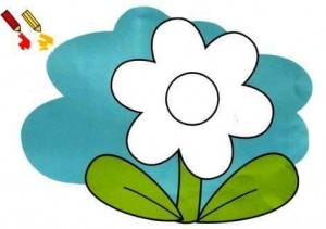 flower finger painting templates (2)