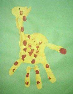 footprint crafts archives for preschool (4)