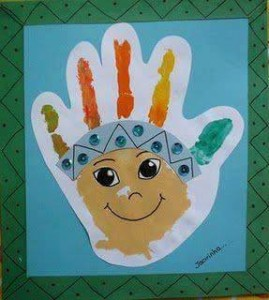 footprint crafts archives for preschool (9)
