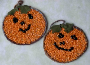 halloween seed mosaic craft-2