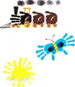 handprint animal crafts for kids (1)