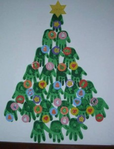 handprint christmas crafts (2)