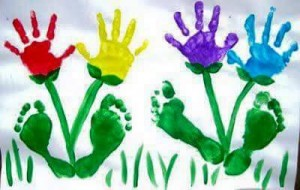 handprint flower crafts (1)