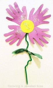 handprint flower crafts (3)