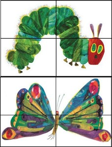 hungry caterpillar puzzle book