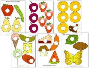 hungry caterpillar story printables