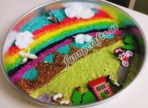 kindergarten rainbow activities